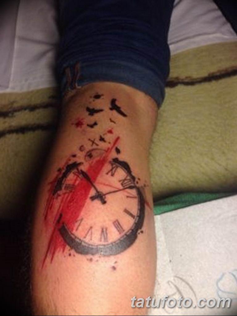 Фото ттату время (часы) 16.04.2019 №206 - tattoo time (hours) - tatufoto.com