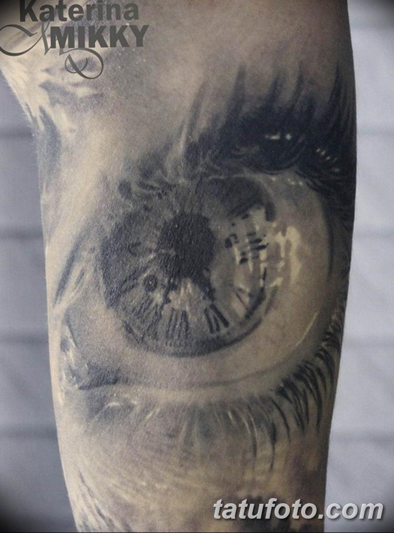 Фото ттату время (часы) 16.04.2019 №207 - tattoo time (hours) - tatufoto.com