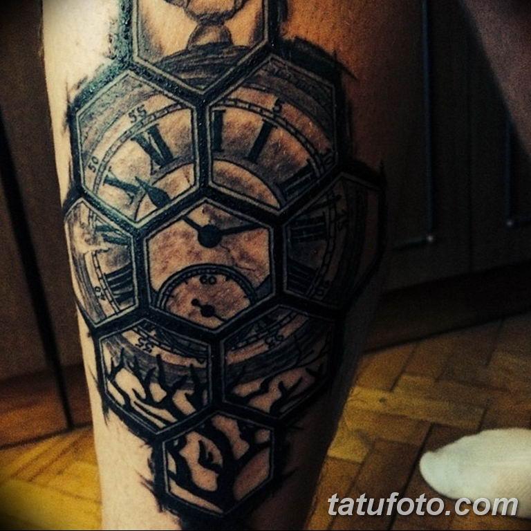Фото ттату время (часы) 16.04.2019 №220 - tattoo time (hours) - tatufoto.com