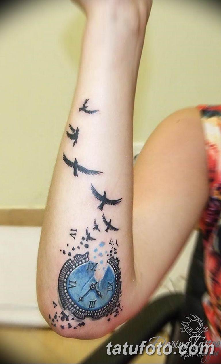 Фото ттату время (часы) 16.04.2019 №228 - tattoo time (hours) - tatufoto.com
