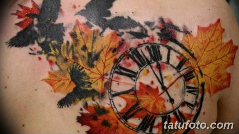 Фото ттату время (часы) 16.04.2019 №230 - tattoo time (hours) - tatufoto.com