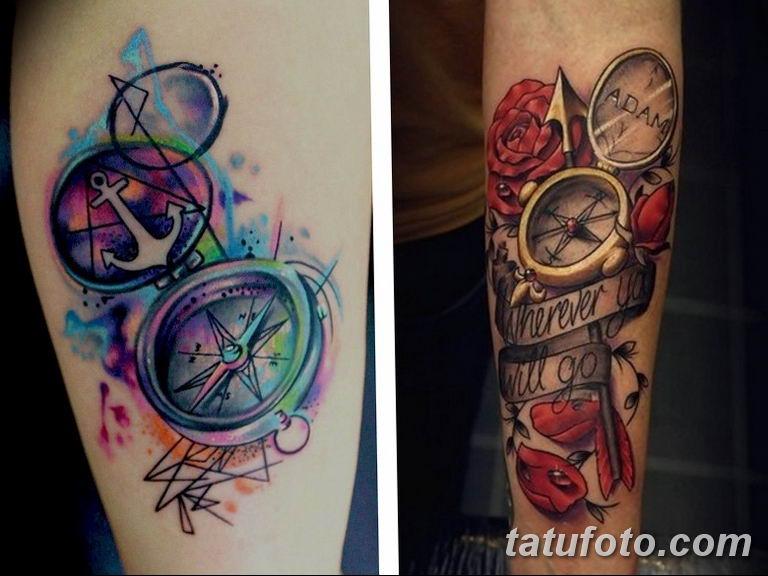 Фото ттату время (часы) 16.04.2019 №233 - tattoo time (hours) - tatufoto.com