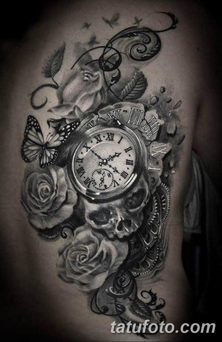 Фото ттату время (часы) 16.04.2019 №267 - tattoo time (hours) - tatufoto.com
