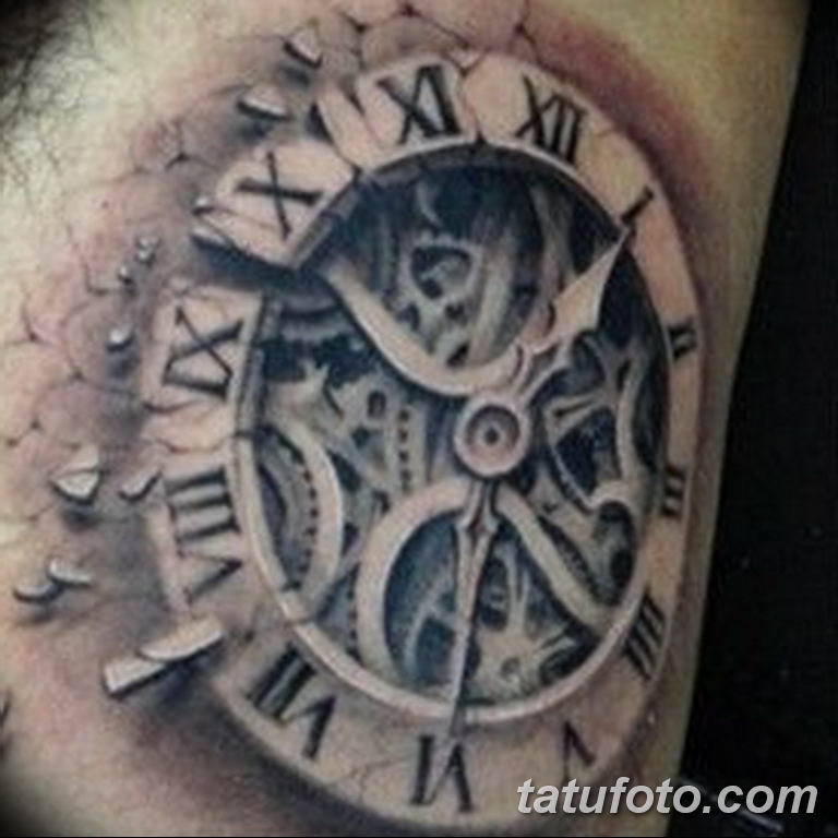 Фото ттату время (часы) 16.04.2019 №278 - tattoo time (hours) - tatufoto.com