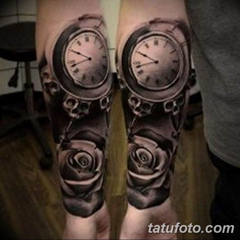 Фото ттату время (часы) 16.04.2019 №279 - tattoo time (hours) - tatufoto.com