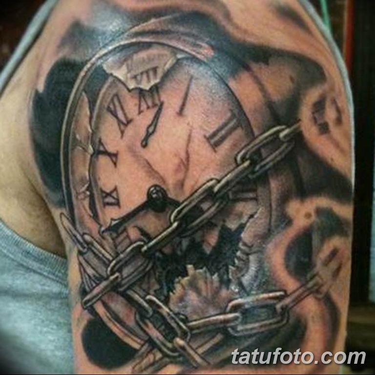 Фото ттату время (часы) 16.04.2019 №285 - tattoo time (hours) - tatufoto.com