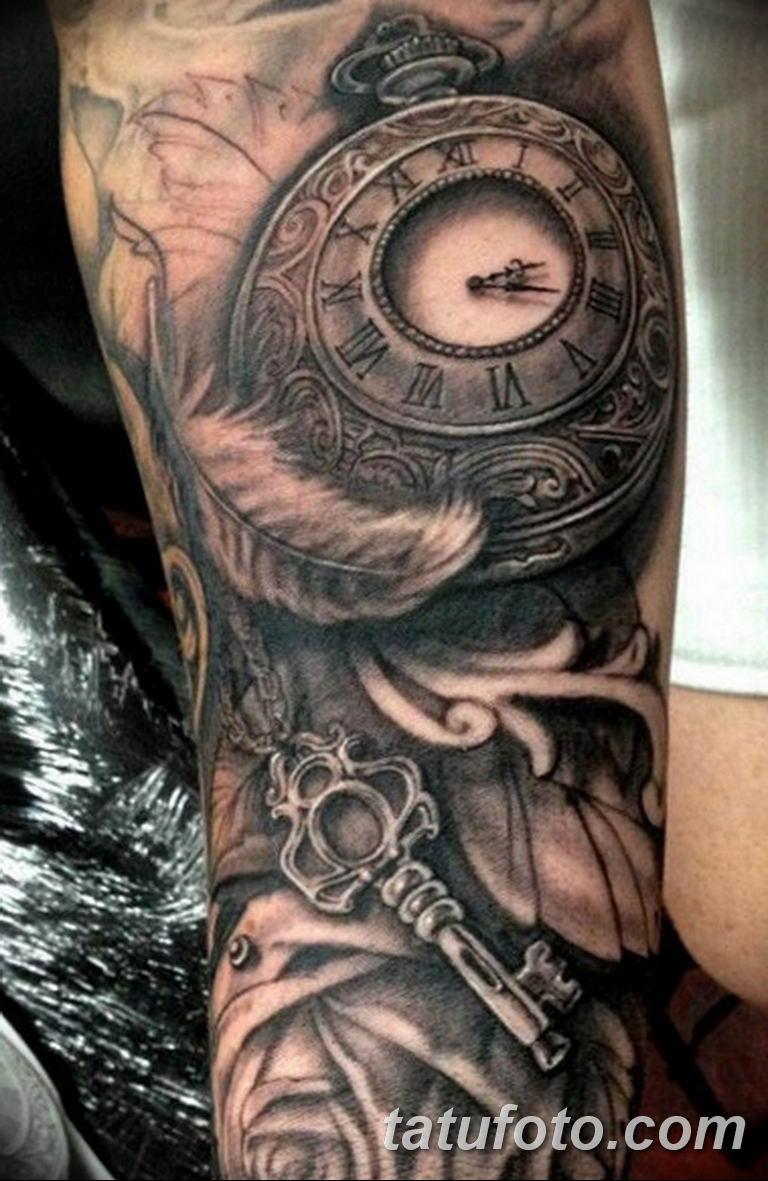 Фото ттату время (часы) 16.04.2019 №294 - tattoo time (hours) - tatufoto.com