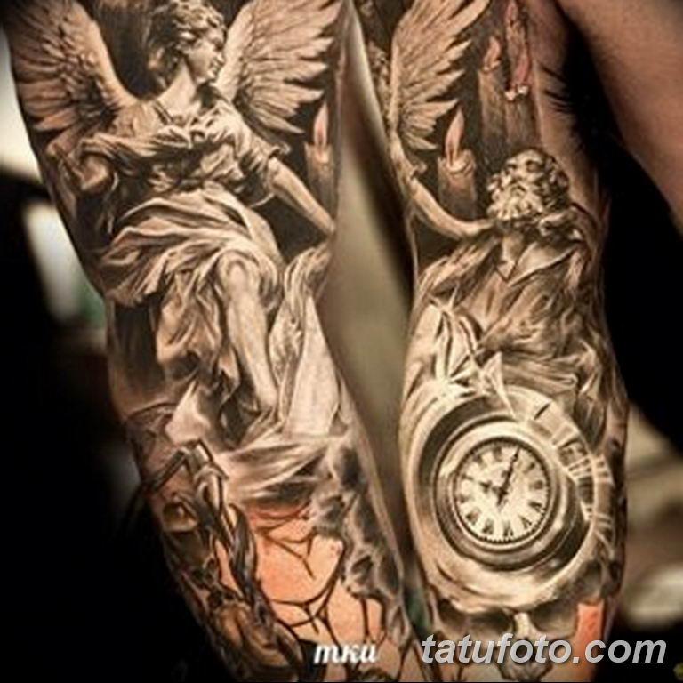 Фото ттату время (часы) 16.04.2019 №299 - tattoo time (hours) - tatufoto.com