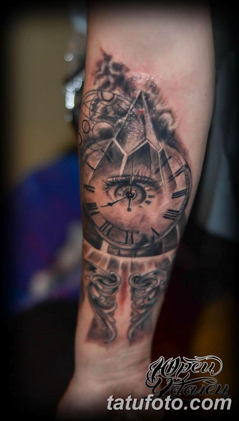 Фото ттату время (часы) 16.04.2019 №312 - tattoo time (hours) - tatufoto.com