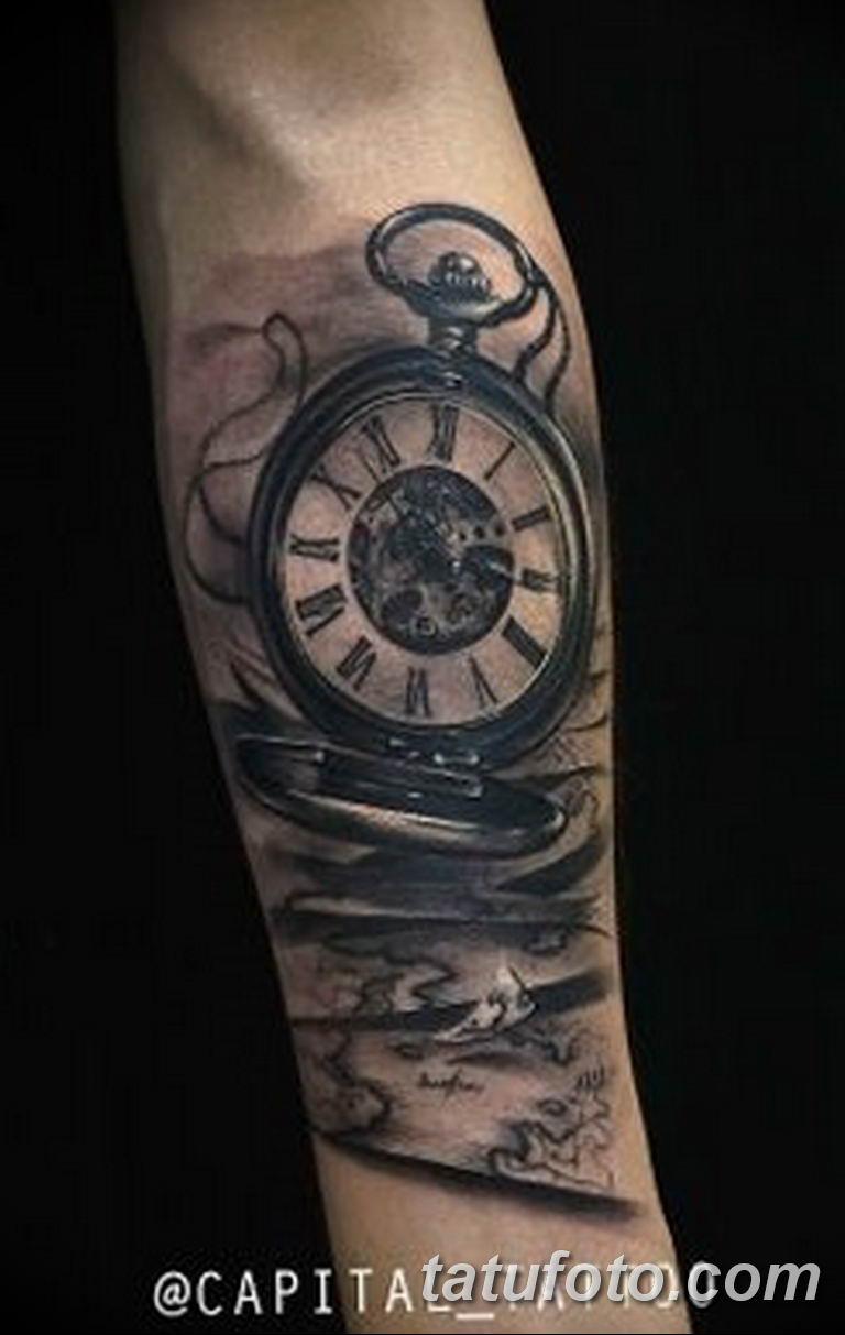 Фото ттату время (часы) 16.04.2019 №331 - tattoo time (hours) - tatufoto.com