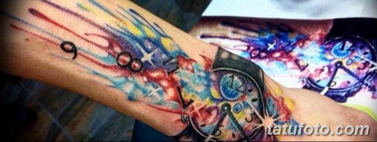 Фото ттату время (часы) 16.04.2019 №354 - tattoo time (hours) - tatufoto.com