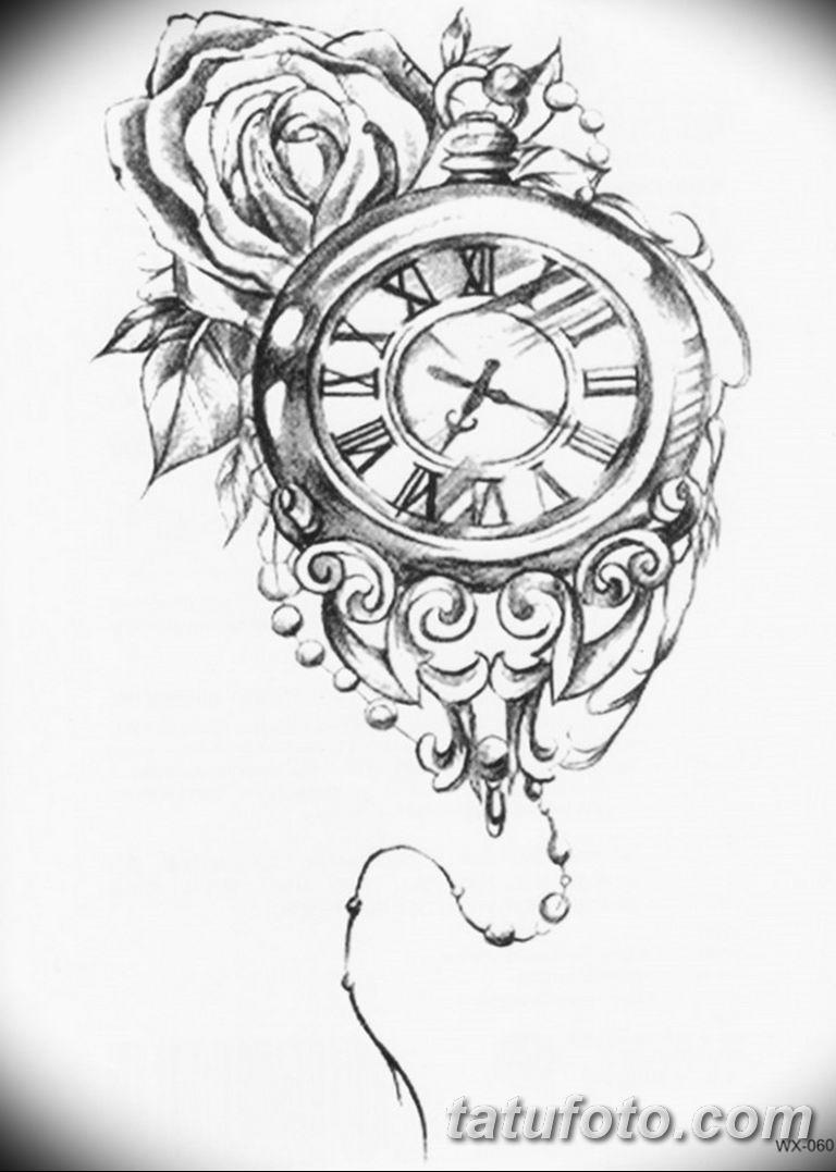 Фото ттату время (часы) 16.04.2019 №356 - tattoo time (hours) - tatufoto.com