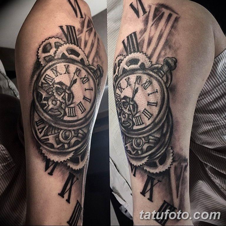 Фото ттату время (часы) 16.04.2019 №369 - tattoo time (hours) - tatufoto.com