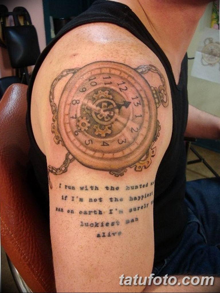 Фото ттату время (часы) 16.04.2019 №434 - tattoo time (hours) - tatufoto.com