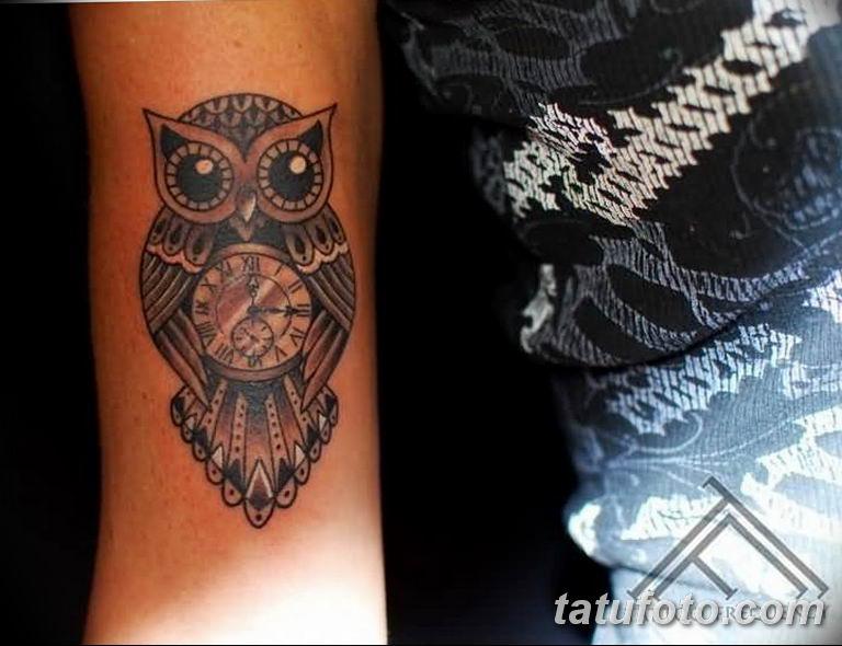 Фото ттату время (часы) 16.04.2019 №438 - tattoo time (hours) - tatufoto.com