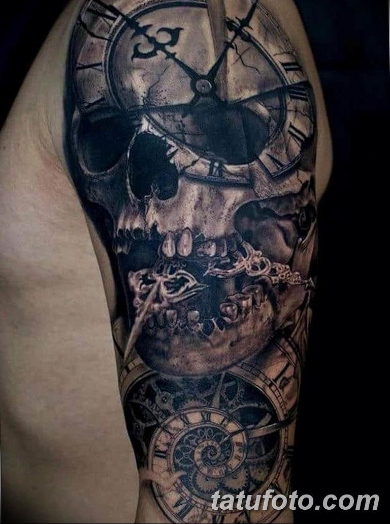 Фото ттату время (часы) 16.04.2019 №455 - tattoo time (hours) - tatufoto.com