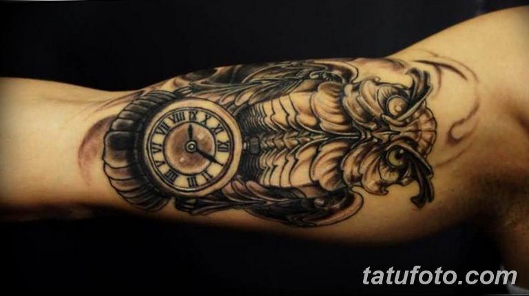 Фото ттату время (часы) 16.04.2019 №466 - tattoo time (hours) - tatufoto.com