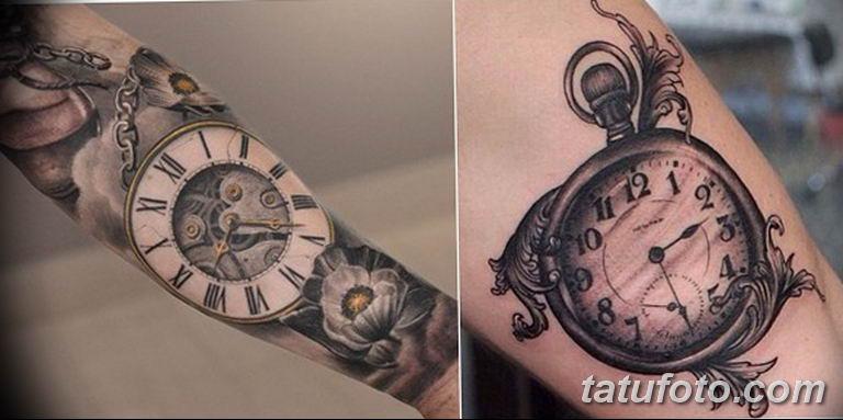Фото ттату время (часы) 16.04.2019 №501 - tattoo time (hours) - tatufoto.com