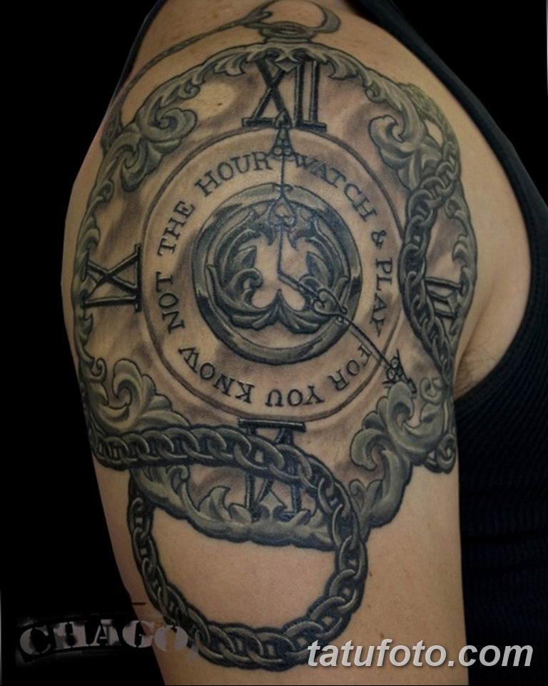 Фото ттату время (часы) 16.04.2019 №549 - tattoo time (hours) - tatufoto.com