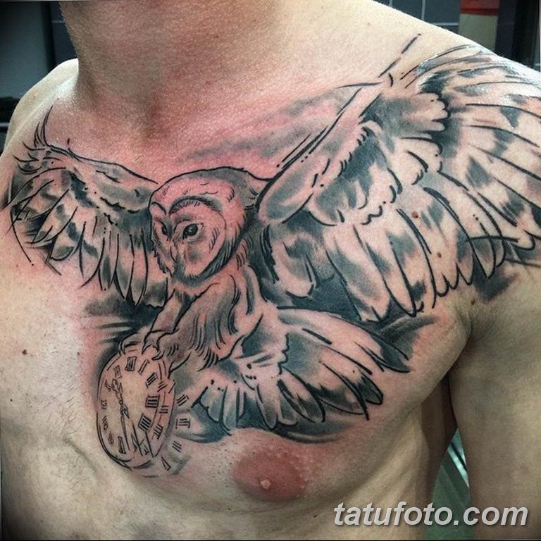 Фото ттату время (часы) 16.04.2019 №578 - tattoo time (hours) - tatufoto.com