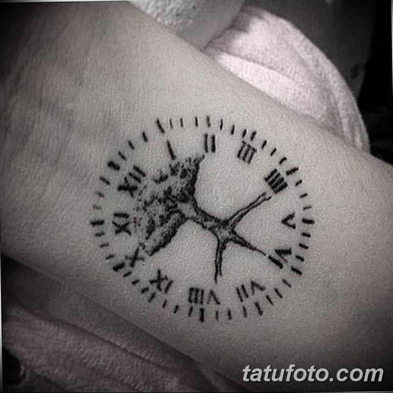 Фото ттату время (часы) 16.04.2019 №602 - tattoo time (hours) - tatufoto.com