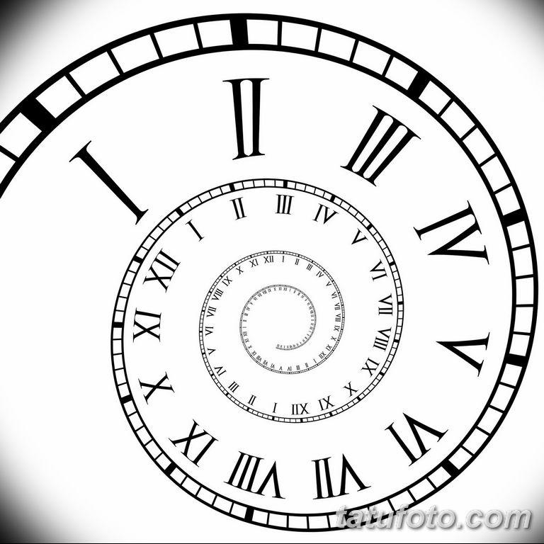 Фото ттату время (часы) 16.04.2019 №645 - tattoo time (hours) - tatufoto.com