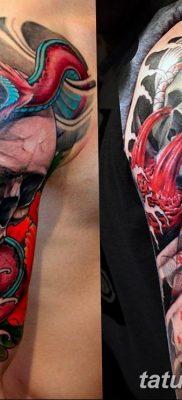 фото интересных и необычных тату 24.04.2019 №166 – Interesting tattoos – tatufoto.com