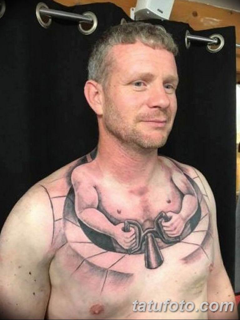 фото необычных и прикольных тату 27.04.2019 №102 - funny tattoos - tatufoto.com