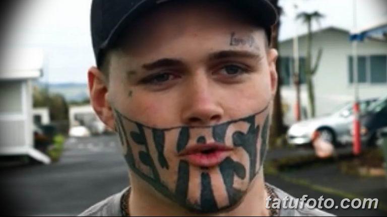 фото тату на лице 29.04.2019 №146 - face tattoo - tatufoto.com