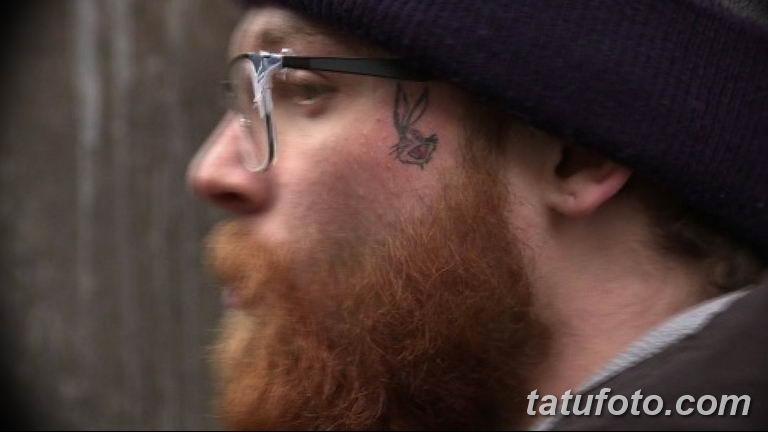 фото тату на лице 29.04.2019 №154 - face tattoo - tatufoto.com