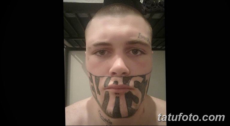 фото тату на лице 29.04.2019 №179 - face tattoo - tatufoto.com