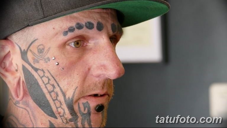 фото тату на лице 29.04.2019 №190 - face tattoo - tatufoto.com