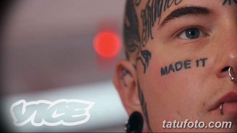 фото тату на лице 29.04.2019 №205 - face tattoo - tatufoto.com