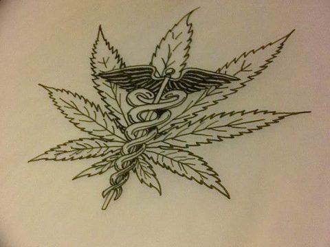 фото эскизы тату марихуана (конопля) 27.04.2019 №016 - tattoo marijuana - tatufoto.com
