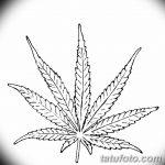 фото эскизы тату марихуана (конопля) 27.04.2019 №020 - tattoo marijuana - tatufoto.com