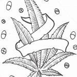 фото эскизы тату марихуана (конопля) 27.04.2019 №021 - tattoo marijuana - tatufoto.com