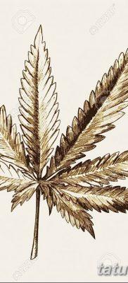 фото эскизы тату марихуана (конопля) 27.04.2019 №055 – tattoo marijuana – tatufoto.com