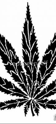 фото эскизы тату марихуана (конопля) 27.04.2019 №058 – tattoo marijuana – tatufoto.com