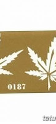фото эскизы тату марихуана (конопля) 27.04.2019 №060 – tattoo marijuana – tatufoto.com