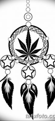 фото эскизы тату марихуана (конопля) 27.04.2019 №061 – tattoo marijuana – tatufoto.com