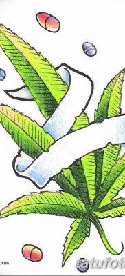 фото эскизы тату марихуана (конопля) 27.04.2019 №062 – tattoo marijuana – tatufoto.com