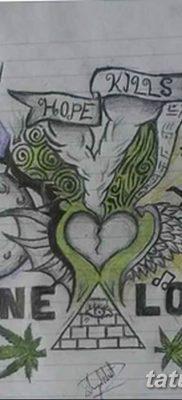 фото эскизы тату марихуана (конопля) 27.04.2019 №065 – tattoo marijuana – tatufoto.com