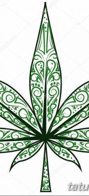 фото эскизы тату марихуана (конопля) 27.04.2019 №066 – tattoo marijuana – tatufoto.com