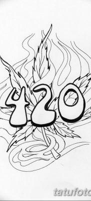 фото эскизы тату марихуана (конопля) 27.04.2019 №068 – tattoo marijuana – tatufoto.com