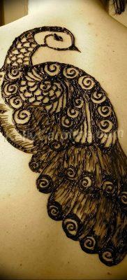 Фото мехенди павлин 13.05.2019 №044 – mehendi peacock – tatufoto.com