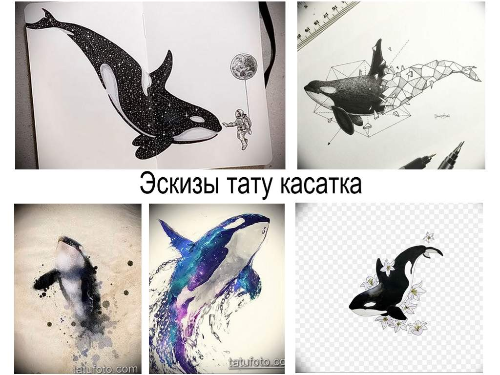 Эскизы тату касатка - коллекция рисунков для тату с касаткой и интересные факты