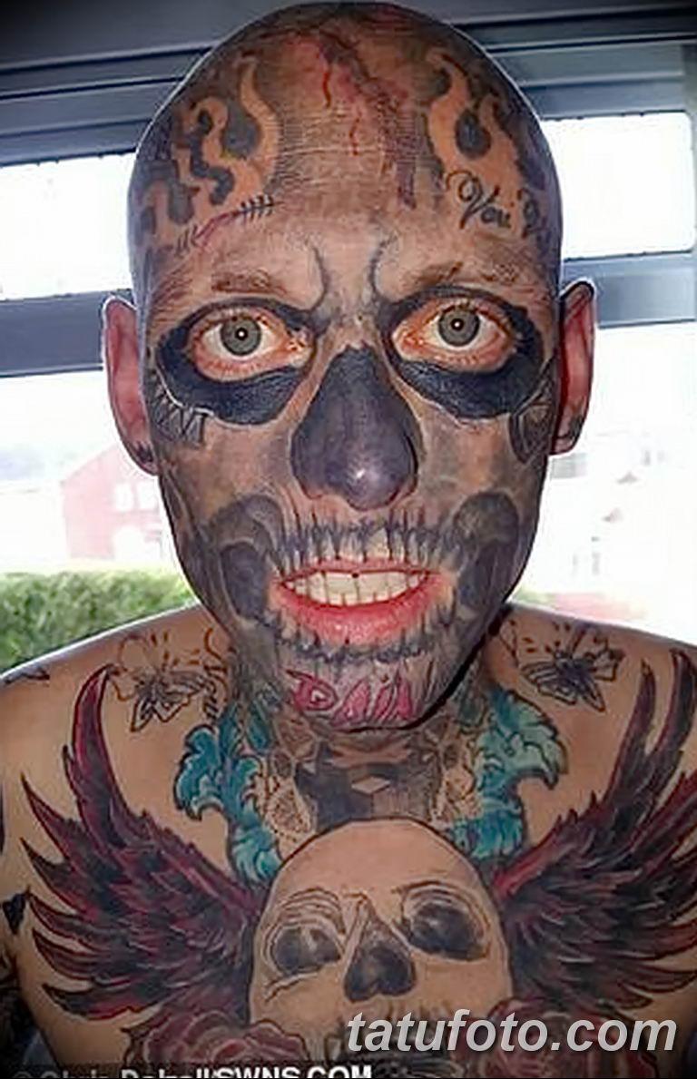 Фото Отец двух детей потратил 28000 на 250 тату 25.06.2019 №002 - tattoo - tatufoto.com