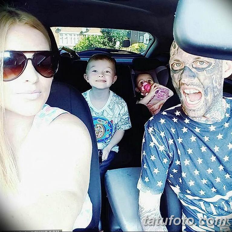 Фото Отец двух детей потратил 28000 на 250 тату 25.06.2019 №004 - tattoo - tatufoto.com