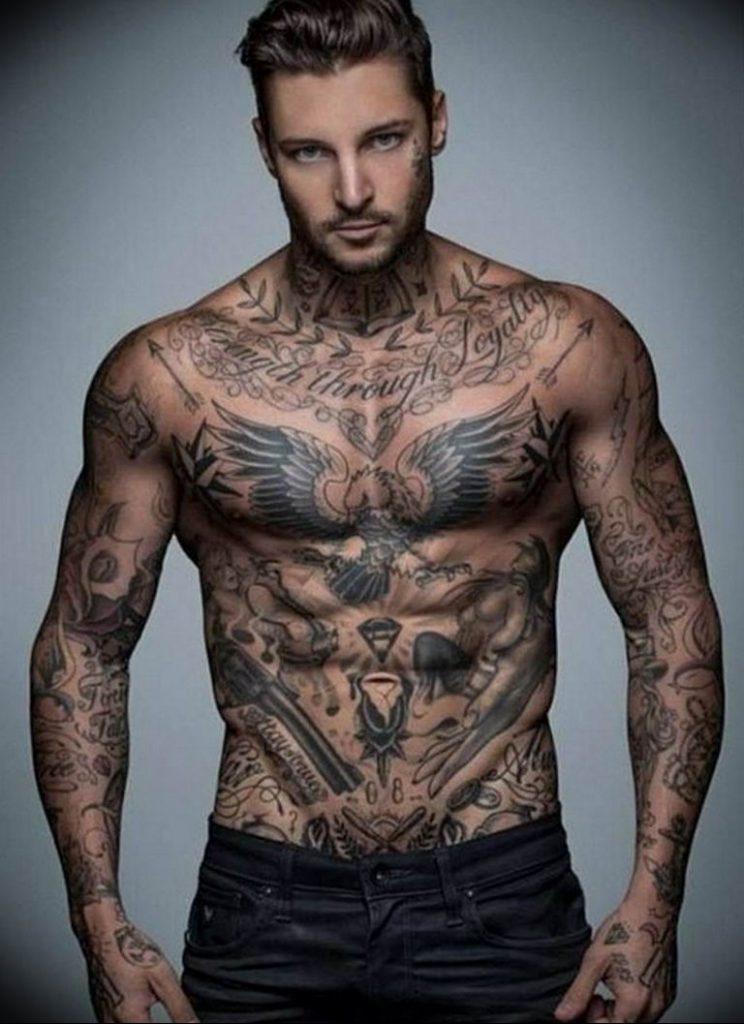 фото татуировок на теле мужские тайн