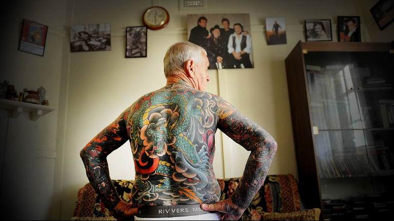 Фото пример много тату на теле 25.06.2019 №090 - whole body tattoo - tatufoto.com